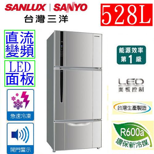 【三洋 SANLUX】528L三門直流變頻冰箱 SR-B528CV