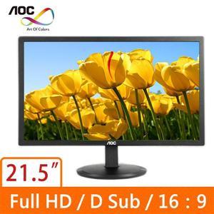 AOC e2280SWN  21.5吋  16:9 螢幕顯示器
