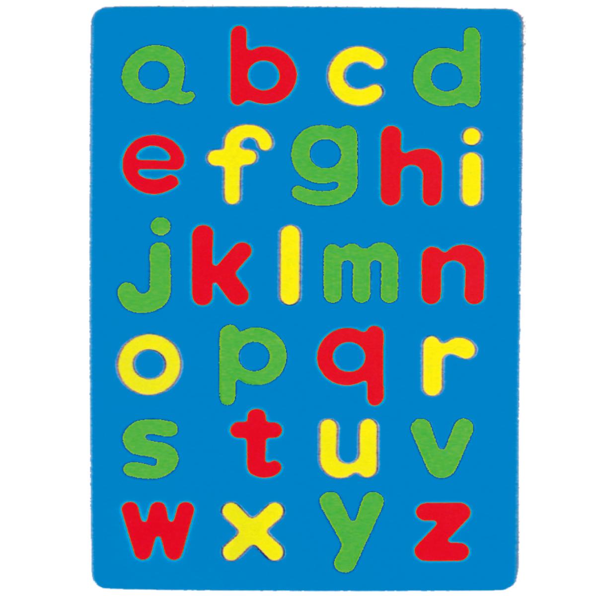 成功2150D彩色英文幼教磁鐵板(小寫)