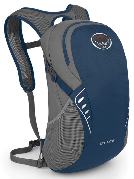 【鄉野情戶外專業】 Osprey |美國|  DAYLITE 輕便小背包/健行背包 休閒背包 旅行背包 攻頂包-鋼鐵藍/Daylite 【容量13L】