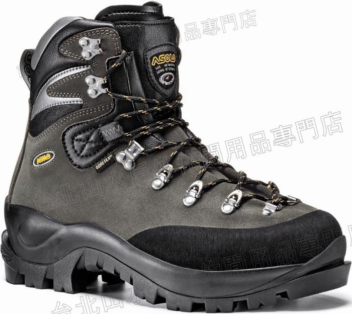 ASOLO 冰攀鞋/皮面重裝登山鞋/硬靴/硬底鞋/雪攀/遠征/雪訓/可搭全快扣冰爪/阿空加瓜 01012 Aconcagua GV 歐洲製造