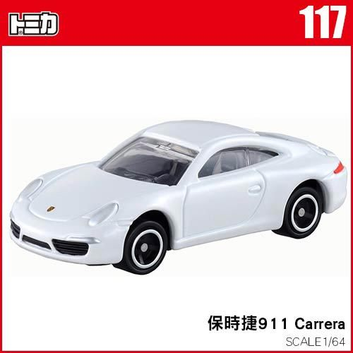 【 TOMICA 】TM117 保時捷 911