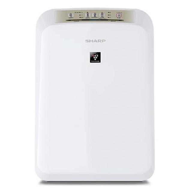 ★預購★【SHARP夏普】12坪自動除菌離子空氣清淨機。白色/FU-D50T-W