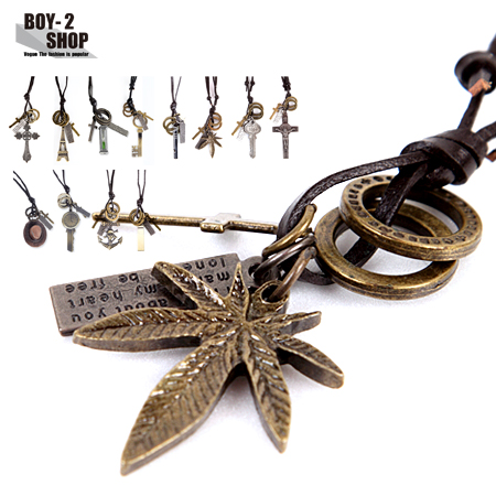 ☆BOY-2☆【NQH001】韓風復古時尚造型項鍊  現+預