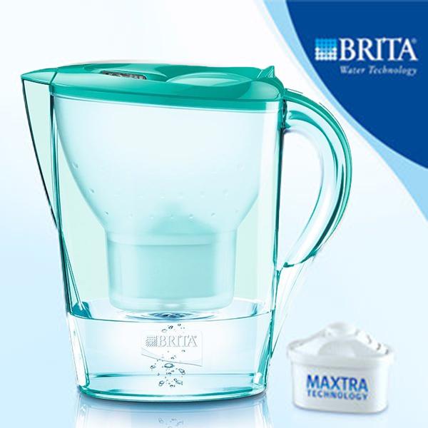 【免運】德國BRITA Marella XL 馬利拉 3.5L 濾水壺,1壺含7芯,薄荷綠只賣2300元