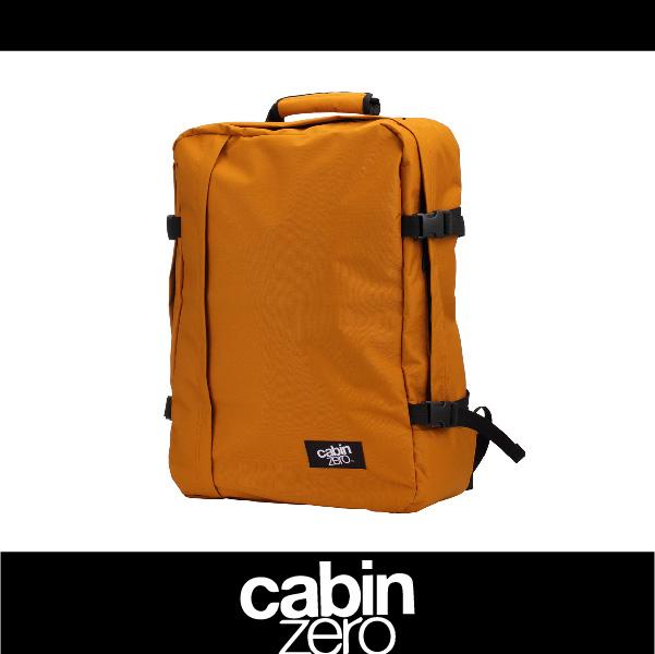 【買就送隨身腰包】CABIN ZERO 161-CZ061309 輕量44L後背包 登機 假期 公事 手提 多用途 可上密碼鎖 國際背包身分證 駝色 萬特戶外運動