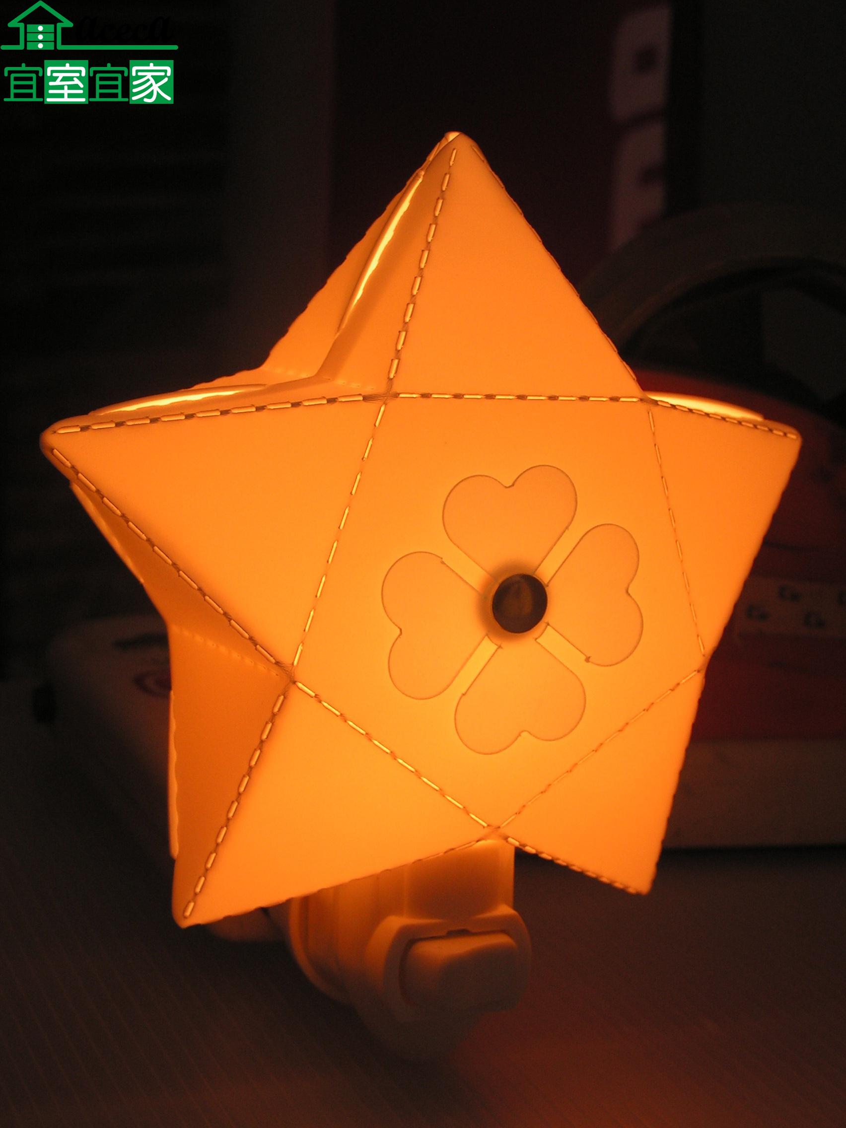 小夜燈 床頭燈 創意 造型 浪漫 夜生活 送禮 MIT 台灣製 星星造型(黃) 【宜室宜家CYF04Y】