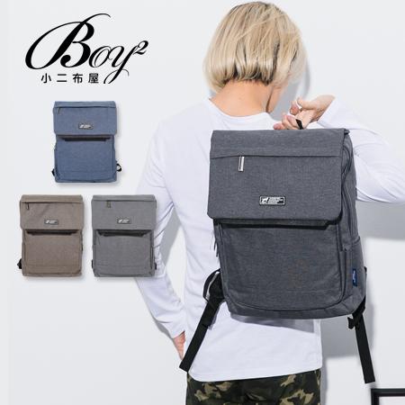 ☆BOY-2☆【NQA5083】男背包 素面翻蓋機能後背包 潮流型男包