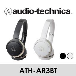【Audio-Technica 鐵三角】無線耳罩式耳機 ATH-AR3BT