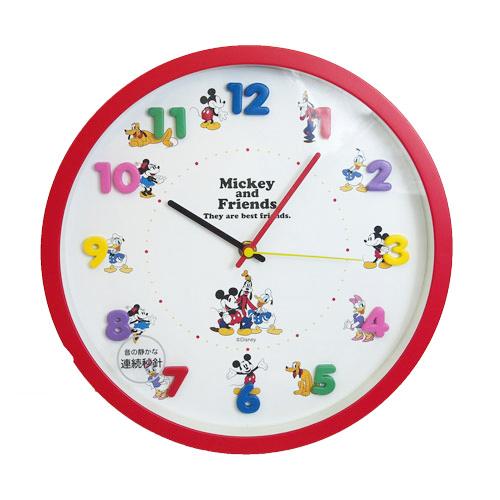 日本直送 Disney 迪士尼  Mickey 米奇 造型掛鐘