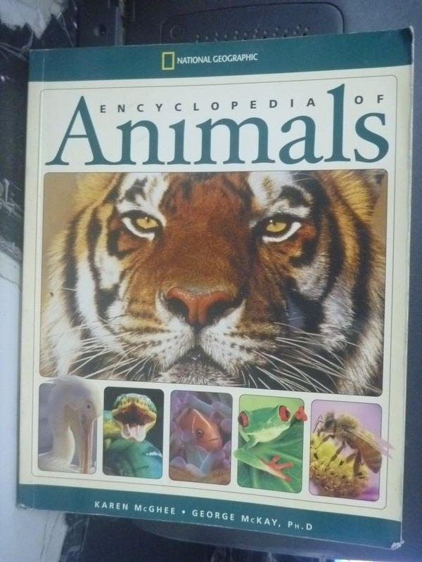 【書寶二手書T2/百科全書_YIE】Encyclopedia of Animals_Karen Mcghee
