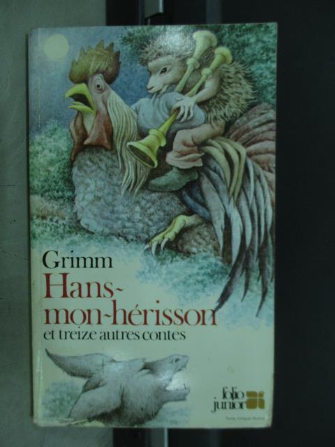 【書寶二手書T1/原文小說_MQV】Hans mon herisson_1979