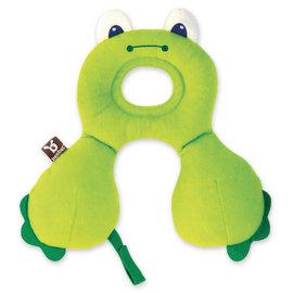 【淘氣寶寶】【以色列Benbat】寶寶旅行頸枕/頭枕 適用0-1歲 青蛙【保證公司貨●品質有保證●非水貨】