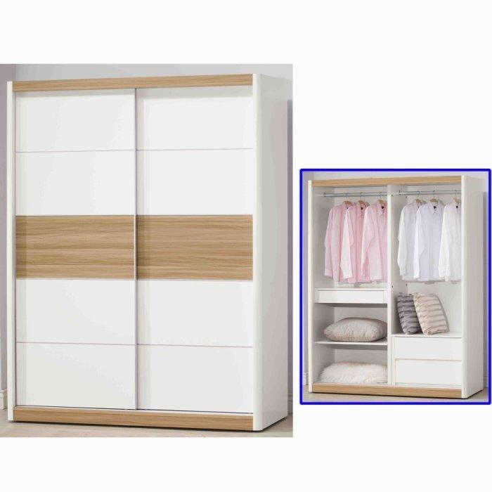 【尚品傢俱】K-403-21 5x7衣櫃~另有3x7、4x7、7x7衣櫃/衣櫥/儲物收納櫃/整理櫃(EP624,625)