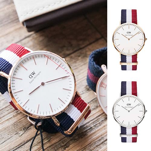 【Cadiz】【Cadiz】瑞典DW手錶 Daniel Wellington 0103DW玫瑰金0203DW銀 Cambridge 40mm [代購/ 現貨]