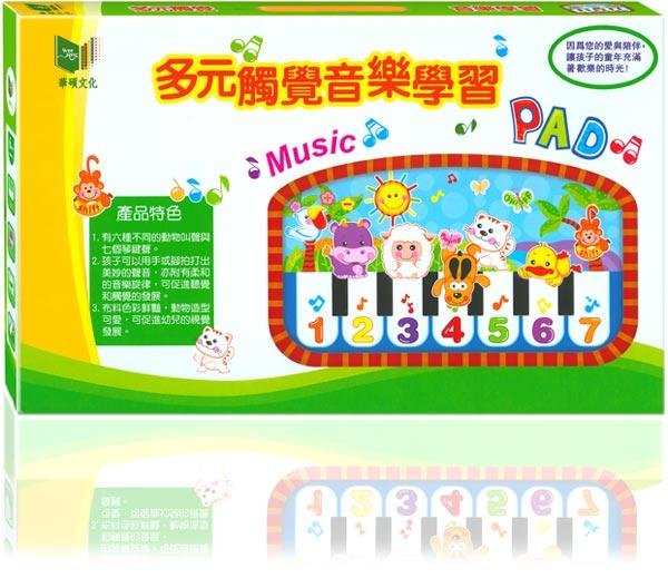 多元觸覺音樂鋼琴/踢踢琴~華碩→FB姚小鳳