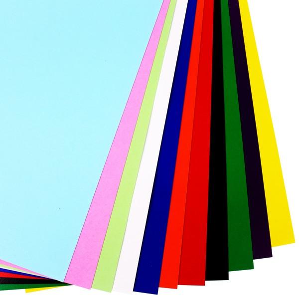 8開西卡紙 彩色西卡紙 300磅有色卡紙 銅西卡紙/一包50張入{定8}