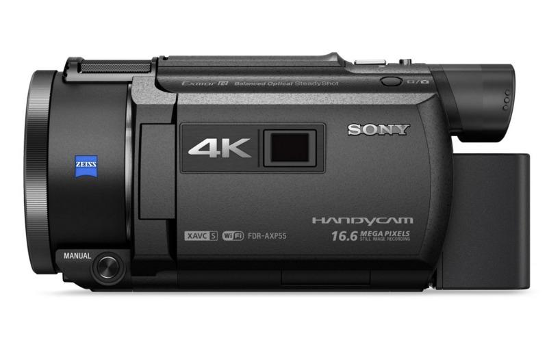 【加碼贈送NP-FV70電池】SONY 索尼 FDR-AXP55 最新上市 AXP55 4K Handycam® 內建投影機 公司貨