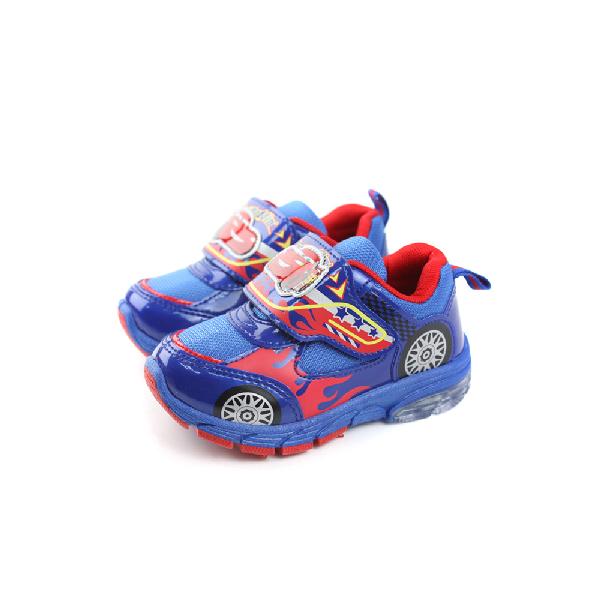 閃電麥坤 Cars 運動鞋 童鞋 藍色 中童 no891