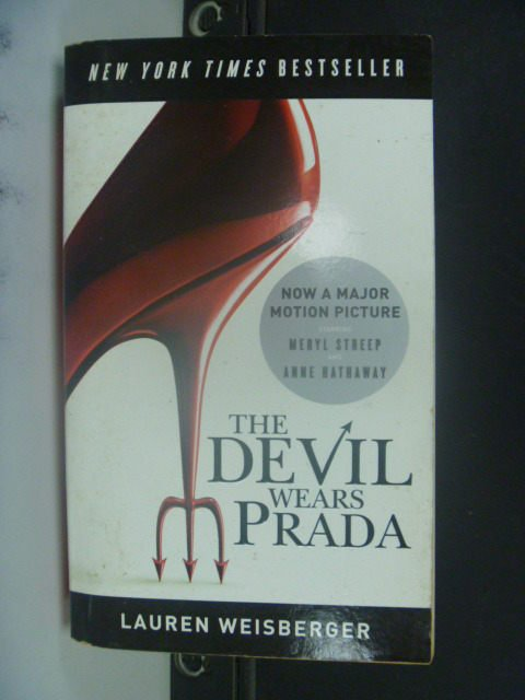 【書寶二手書T2/一般小說_GRO】The Devil Wears Prada_Lauren Weisberger