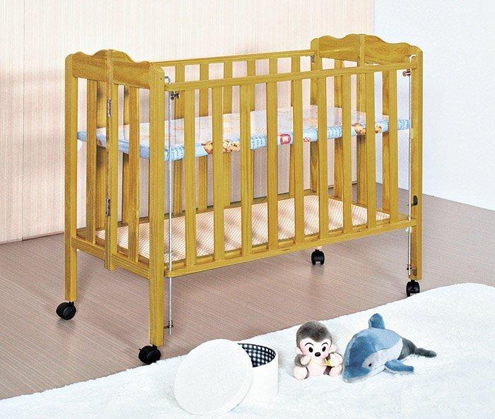 【尚品家具】HY-A196-06 3.6尺嬰兒床