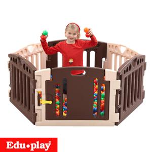 ★衛立兒生活館★Edu-Play 遊戲圍欄(6PCS)