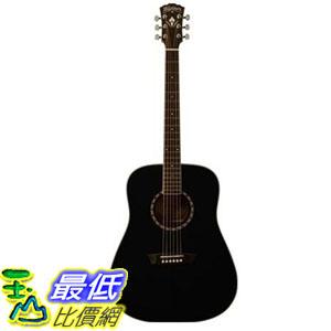 [COSCO代購  如果沒搶到鄭重道歉] Washburn WD5S 木吉他 (黑色) _W105048
