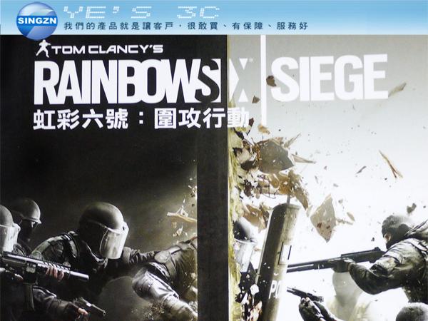 「YEs 3C」湯姆克蘭西 Rainbow Six Siege《虹彩六號:圍攻行動》第一人稱射擊遊戲 免運