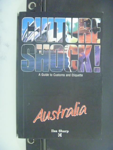 【書寶二手書T2/地理_GGF】Culture shock!. Australia_Sharp, Ilsa