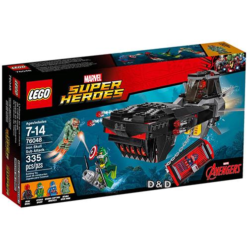 高積木 LEGO《 LT76048 》2016 年 SUPER HEROES 超級英雄系列 - Iron Skull Sub Attack