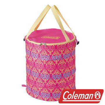 Coleman 紅葉圖騰萬用魔術桶 衣物收納桶 垃圾桶 收納桶 戶外 露營 CM-21914M