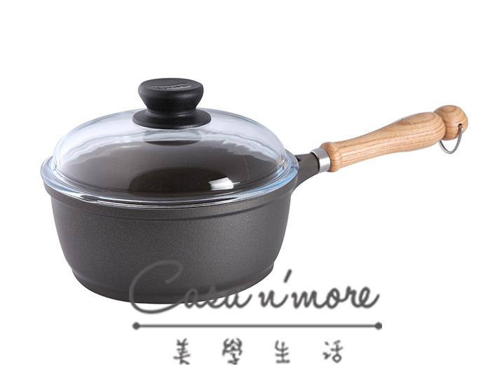 寶迪 Berndes Bonanza 湯鍋 不沾鍋 木柄 含蓋 20cm