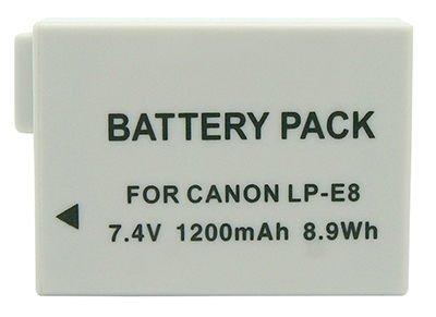 *╯新風尚潮流╭*For CANON鋰電池 700D 650D 600D 550D X5 X4 X3 T3i LP-E8