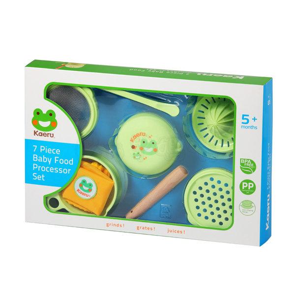 哈皮蛙嬰兒七件組食物調理器【六甲媽咪】