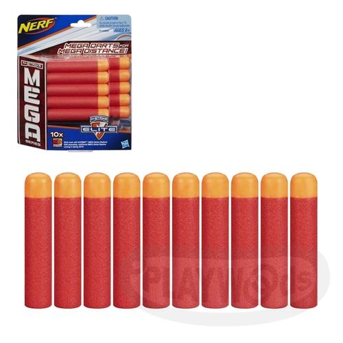 【Playwoods】[NERF樂活打擊]N-Strike巨彈系列:巨彈狙擊步槍子彈補充包 (10入/孩之寶/Elite Mega系列子彈)