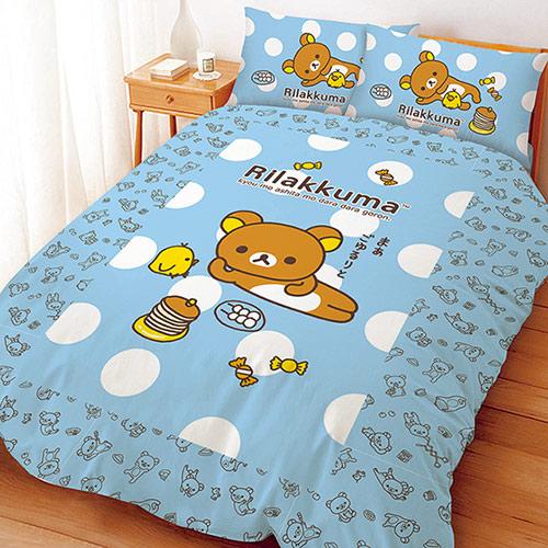 【享夢城堡】單人床包涼被組-拉拉熊 小憩片刻系列