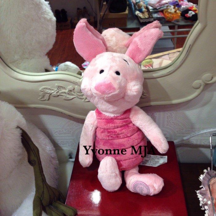 *Yvonne MJA美國代購*美國迪士尼Disney 樂園限定正品 維尼貼心好友 小豬(Piglet)小娃娃