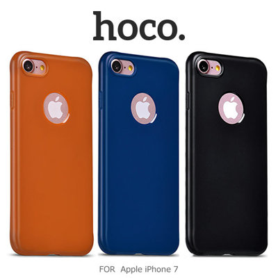 hoco 果戀實色 TPU 軟套/Apple iPhone 7/7 Plus/手機殼/保護殼/保護套【馬尼行動通訊】