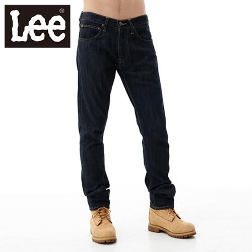 【Super Sales 褲款下殺↘2.5折】LEE 牛仔褲 721 低腰修身小直筒-男款(原藍色)