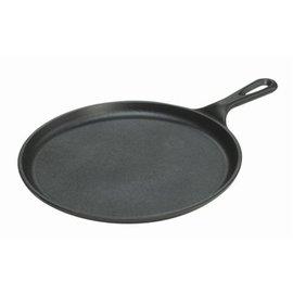 [ Lodge ] 10吋圓型扁煎盤/26cm 鑄鐵鍋/荷蘭鍋/鐵板燒盤 L9OG3 Round Griddle 美國製