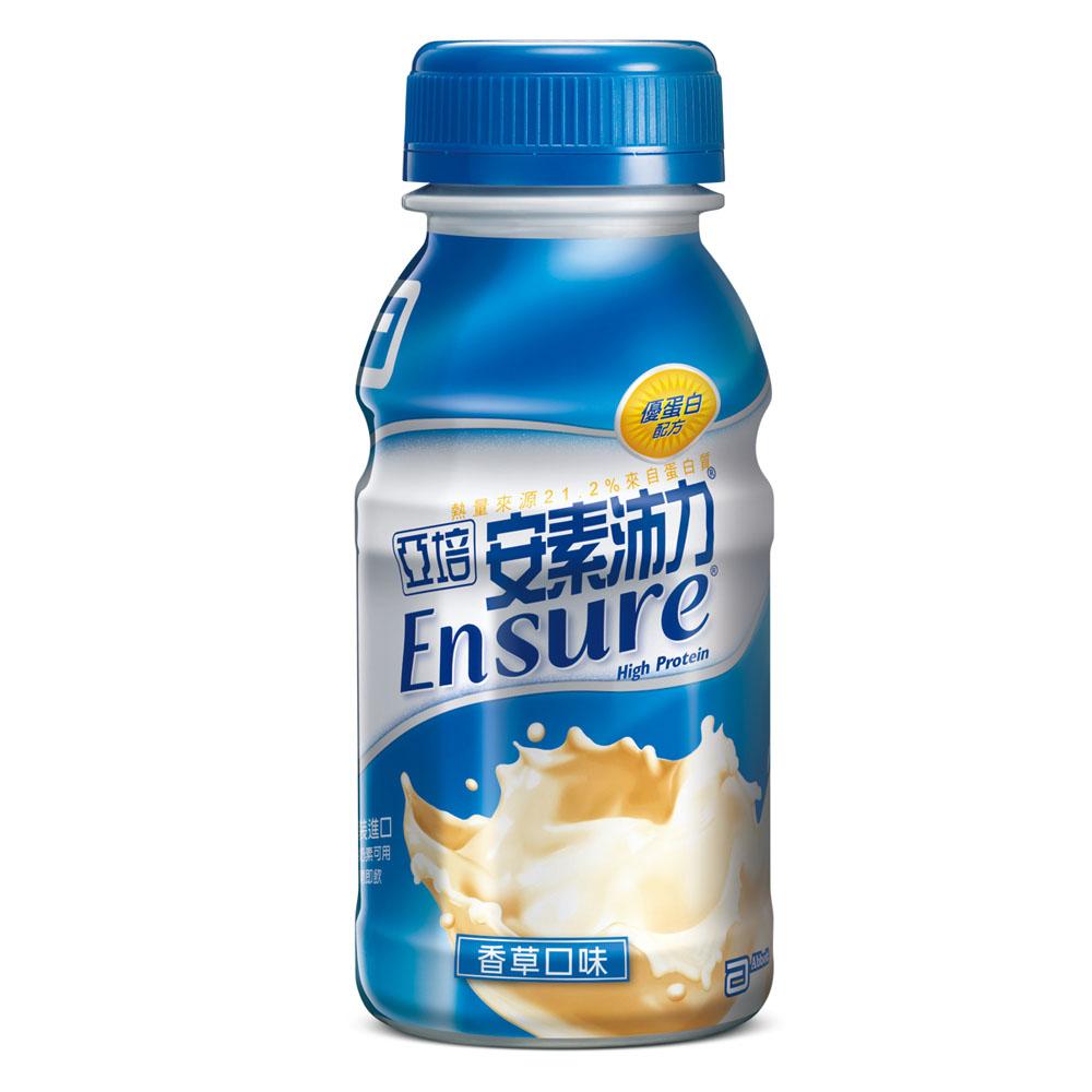 Abbott亞培 安素 沛力 隨身瓶 237ml x 24瓶【美十樂藥妝保健】