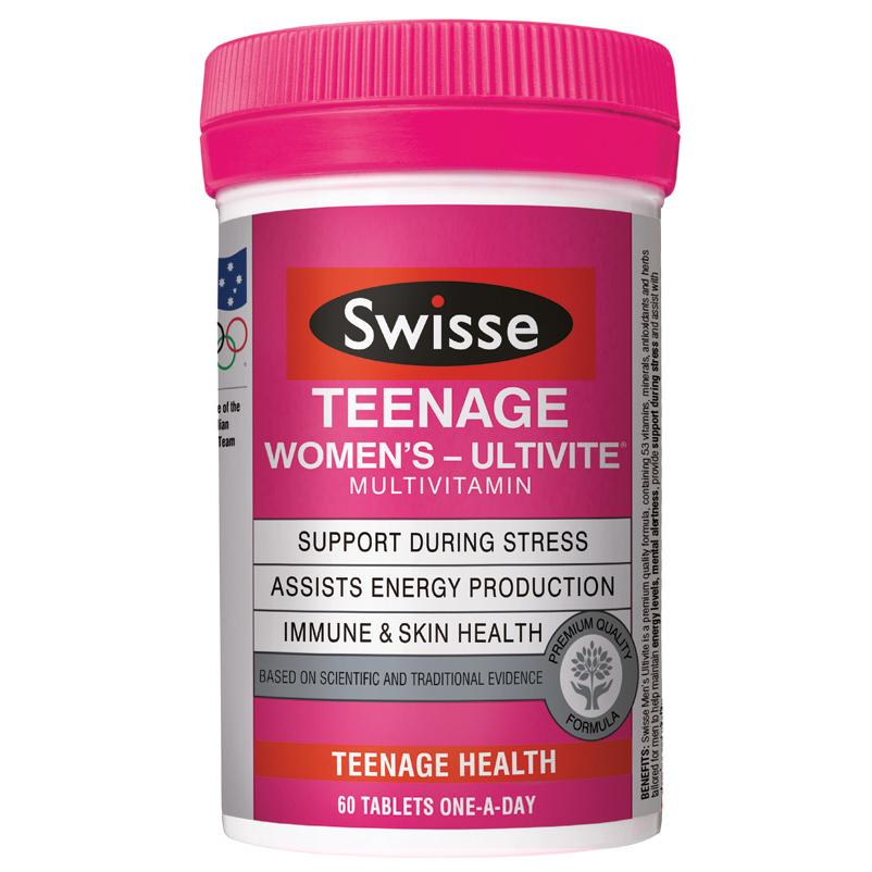 *預購* Swisse Teenage Ultivite Women's (少女) 綜合維他命