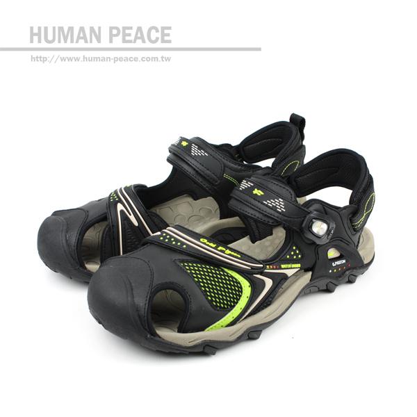 G.P 涼鞋 黑/卡其 男款 no609