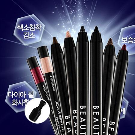 韓國 BEAUTY PEOPLE 10秒定格旋轉眼線膠筆 0.5g 防水免削 旋轉 眼線膠筆【N100565】