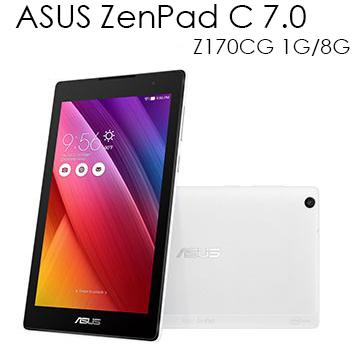 【贈8G記憶卡+小惡魔手機立架】ASUS 華碩 ZenPad C 7.0 Z170CG 1G/8G  3G雙卡雙待 通話版 7吋平板電腦 【葳豐數位商城】