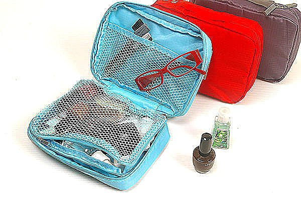 BO雜貨【SV2453】韓版飛機收納包 旅行旅遊收納 防水化妝包 旅行包 旅行組 旅行袋