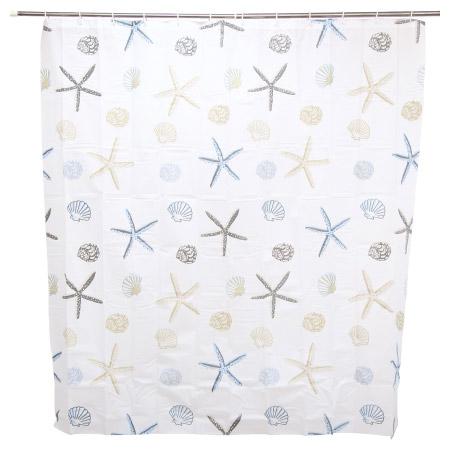 浴簾 PEVA海星 BH-293-3 180x180cm
