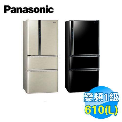 國際 Panasonic 610公升 ECONAVI 三門變頻冰箱 NR-C618HV