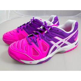 [陽光樂活] ASICS 亞瑟士 網球鞋 GEL-GAME 5 女款 E556Y-3501