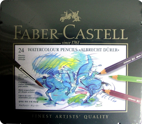 Faber-Castell輝柏 ARTISTS藝術家級專家級水彩色鉛筆24色